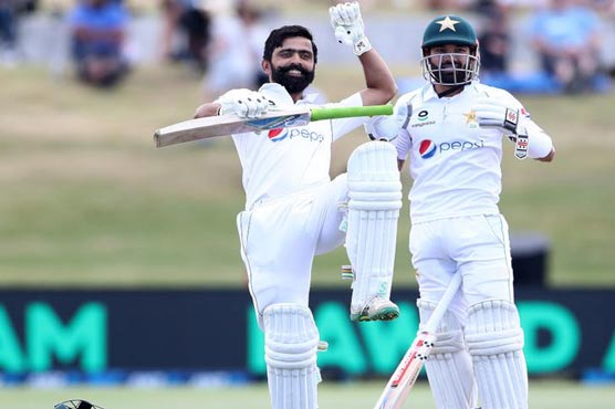 Ton-up Fawad puts Pakistan in command of first Test
