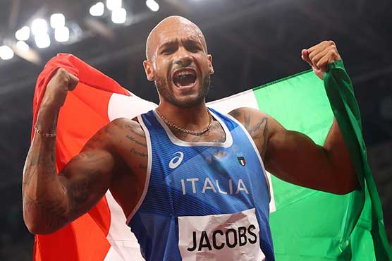 Italy's Jacobs wins first post-Bolt Olympic 100m gold