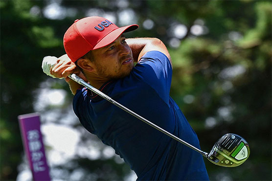 American Schauffele wins Olympics golf gold