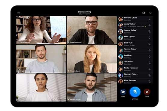 ٹیلیگرام: گروپ ویڈیو کال میں ایک ہزار افراد شامل کرنا ممکن