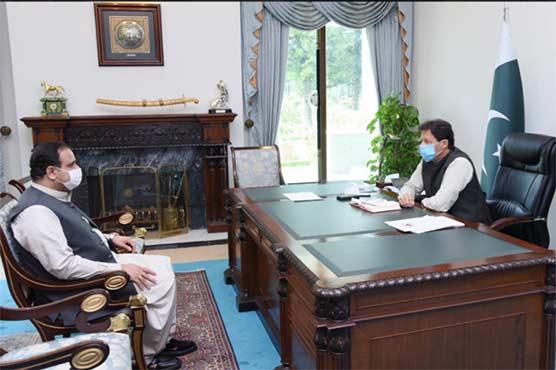 وزیرِاعظم سے پنجاب اور بلوچستان کے وزرائے اعلیٰ کی ملاقات، اہم معاملات پر گفتگو