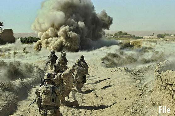 امریکی فضائی حملوں میں سات افغان طالبان ہلاک، لشکرگاہ میں حکومتی فورسز کی پوزیشن کمزور