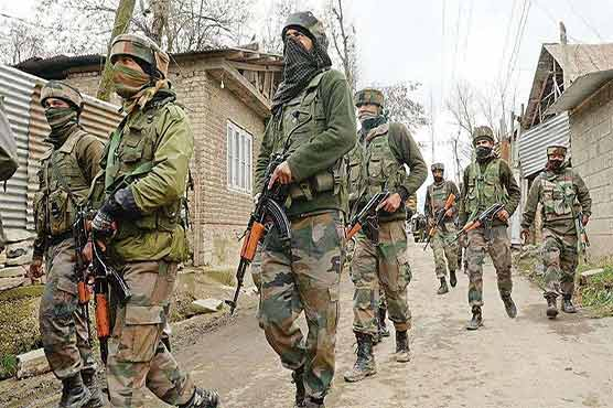 Indian troops martyr Kashmiri youth in Bandipora