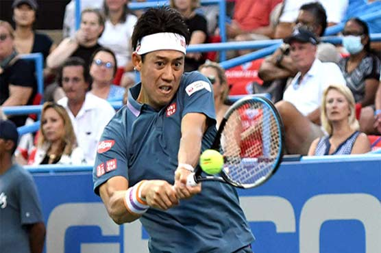 Tired Olympian Nishikori wins ATP Washington opener