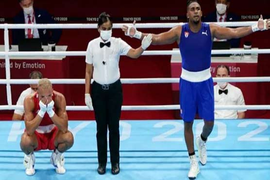 Cuba master Britain again for Tokyo boxing gold