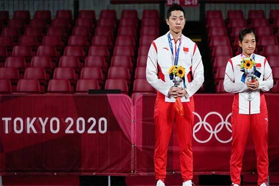 ٹوکیو اولمپکس: میڈل دوڑ میں چین کا ٹاپ پوزیشن پر قبضہ مضبوط