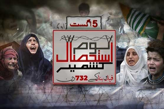 Nation observed Youm-e-Istehsal to express solidarity with Kashmiris