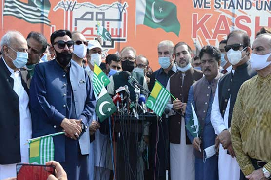 Pakistan will continue to stand by oppressed Kashmiris: President