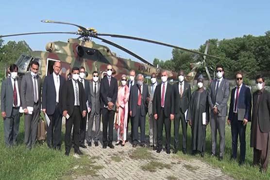 OIC delegation leaves for Muzaffarabad to visit LOC