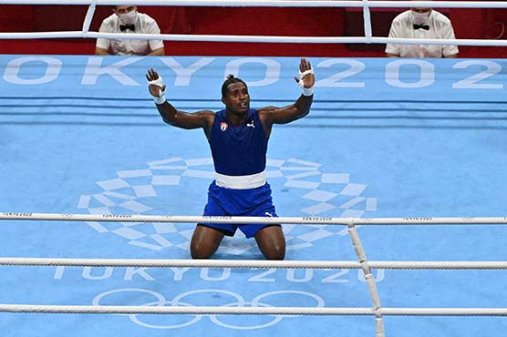 Cuban shooting-victim boxer adds second Olympic gold to go with bullet