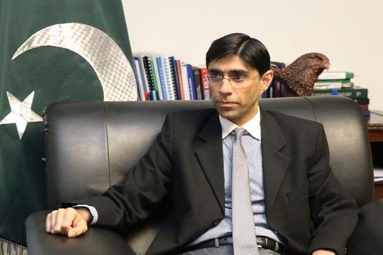 Pakistan will continue to support Kashmiris right to self-determination: Moeed