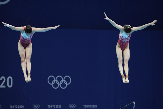 Dominant China wrap up Olympic diving competition with 7th gold