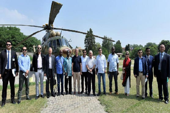 Delegation of OIC IPHRC visits LoC Chirikot sector