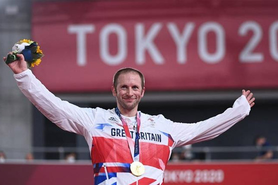 Britain's Jason Kenny makes Olympic history with keirin gold