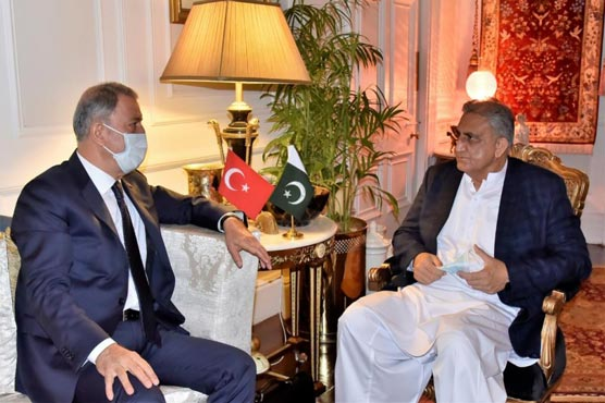 COAS, Turkish defence minister discuss Afghan peace process
