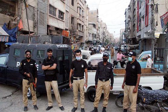 Micro smart lockdown imposed in areas of Karachi's district Keamari