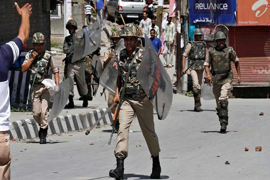 Indian troops martyr two youth in Kulgam