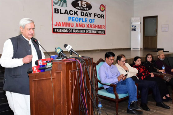 Fakhar for continuing diplomatic, moral support to people of IIOJK