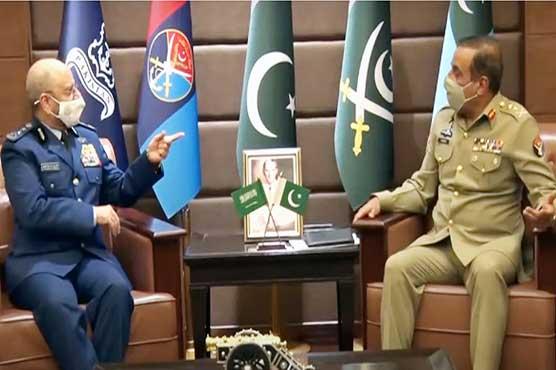 Saudi Chief of General Staff calls on CJCSC Gen Nadeem Raza