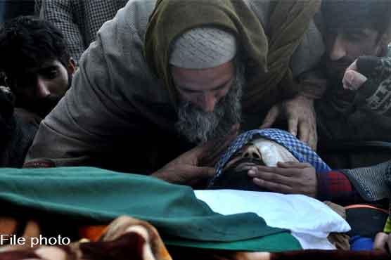 Indian troops martyr one Kashmiri youth in IIOJK