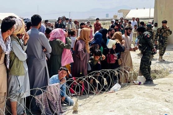 US Afghan evacuations stalling as receiving base overflows: Pentagon