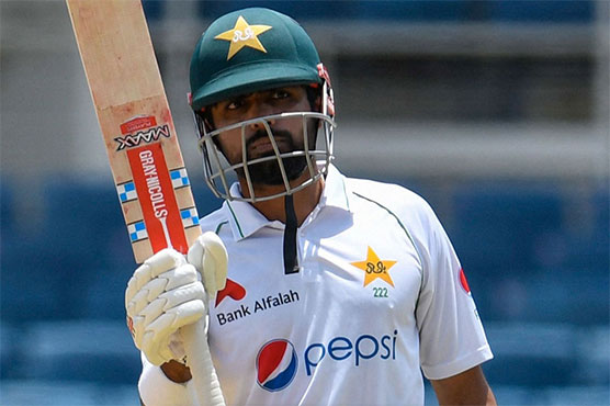 Babar, Fawad lead Pakistan recovery in sweltering second Test