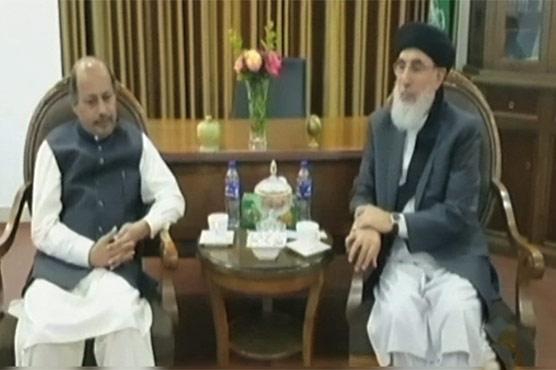 Pakistan's Ambassador calls on Gulbadin Hikmatyar