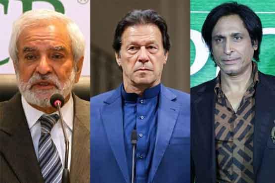 Appointment of new PCB chief: Ramiz Raja, Ehsan Mani meet PM Imran Khan