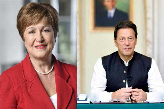 IMF MD thanks PM Imran for safe evacuation of Fund's staff from Afghanistan