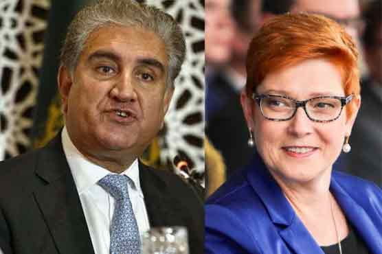 FMs of Pakistan, Australia discuss current Afghan situation