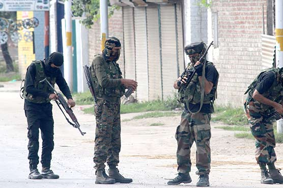 Indian troops martyr three Kashmiri youth in Sopore