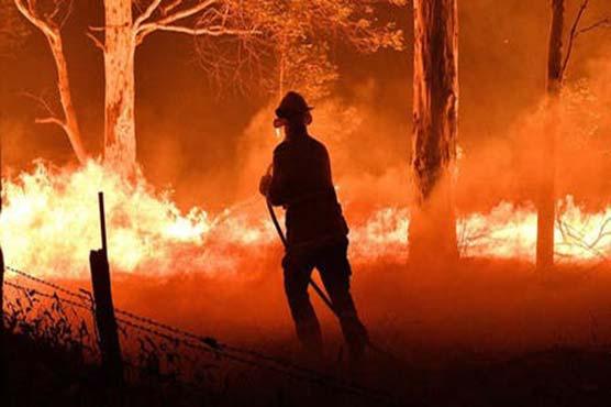 Australia's Perth battles bushfire amid virus lockdown