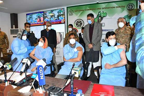Pakistan launches nationwide COVID-19 vaccination drive
