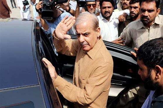 Shehbaz Sharif appears before NAB court in Ashiana Housing reference