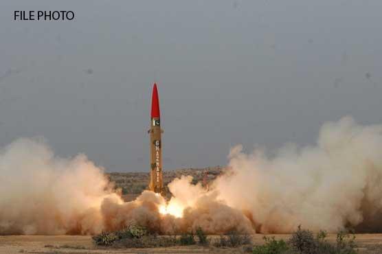 Pakistan successfully test-fires ballistic missile Ghaznavi