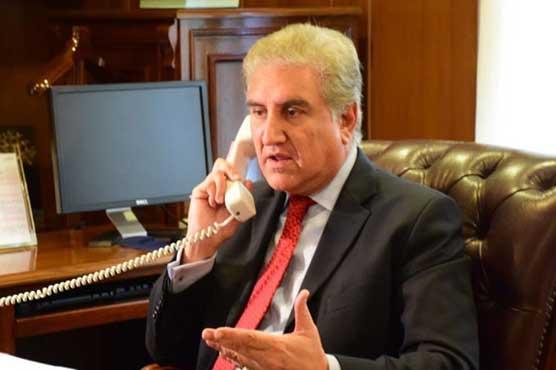 FM Qureshi telephones Sri Lankan counterpart, felicitates him on 73rd National Day