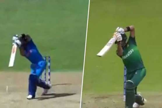 ICC Poll: Babar Azam defeats Kohli to win 'King of Cover Drive'