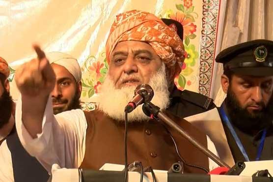 PTI govt has no right to decide the future of Kashmiris: Fazlur Rehman