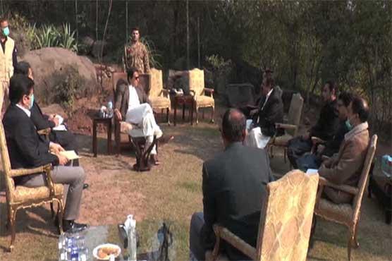 Parliamentarians call on PM Imran Khan