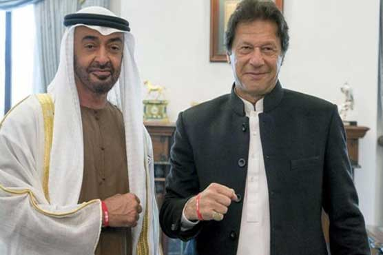 PM Imran, Abu Dhabi Crown Prince discuss bilateral relationships
