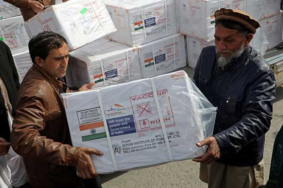First doses of COVID-19 vaccine arrive in Afghanistan from India