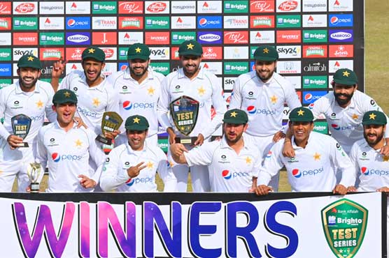 Hasan Ali takes 10 wickets as Pakistan sweep test series against South Africa