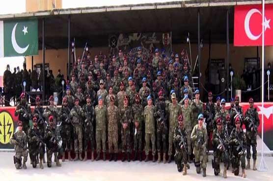 Pak-Turk joint military exercise ATATURK-XI kicks off at Tarbela