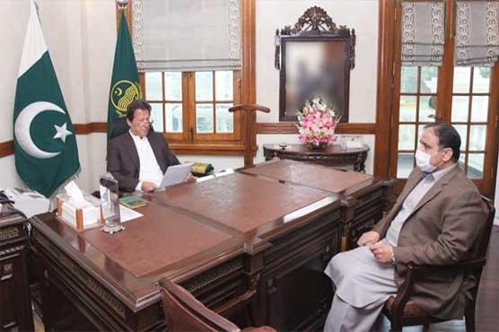 CM Buzdar apprises PM Imran of Senate polls preparations