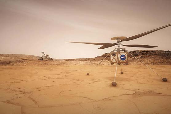 NASA intends to fly a helicopter on Mars