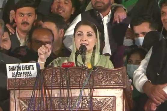 Time has come to send Imran packing: Maryam Nawaz