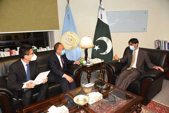 Pakistan to continue to build bilateral cooperation in various areas under CPEC: Moeed