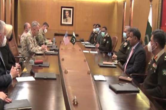 Incoming Commander US CENTCOM calls on COAS General Qamar Bajwa