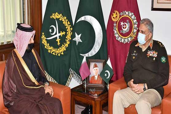 COAS, Special Envoy of Qatar discuss regional security, Afghan peace process