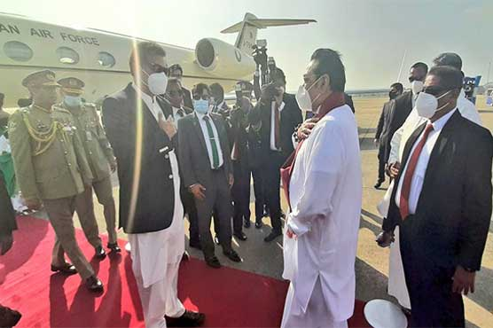PM Imran arrives in Sri Lanka on two-day official visit